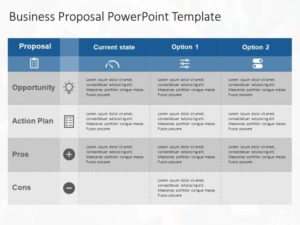 Business Proposal Executive Summary PowerPoint Template