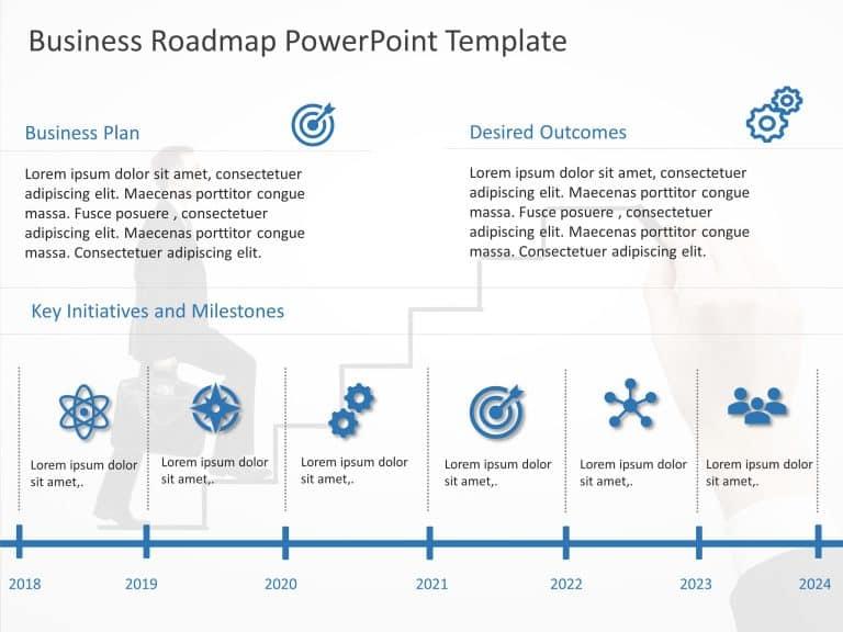 Business Roadmap PowerPoint Template 15