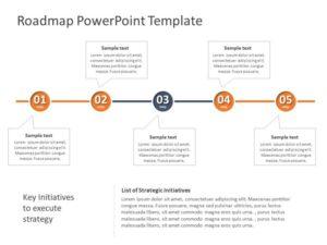 Business Roadmap PowerPoint Template 18