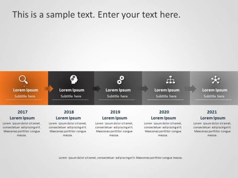 Business Roadmap PowerPoint Template 21