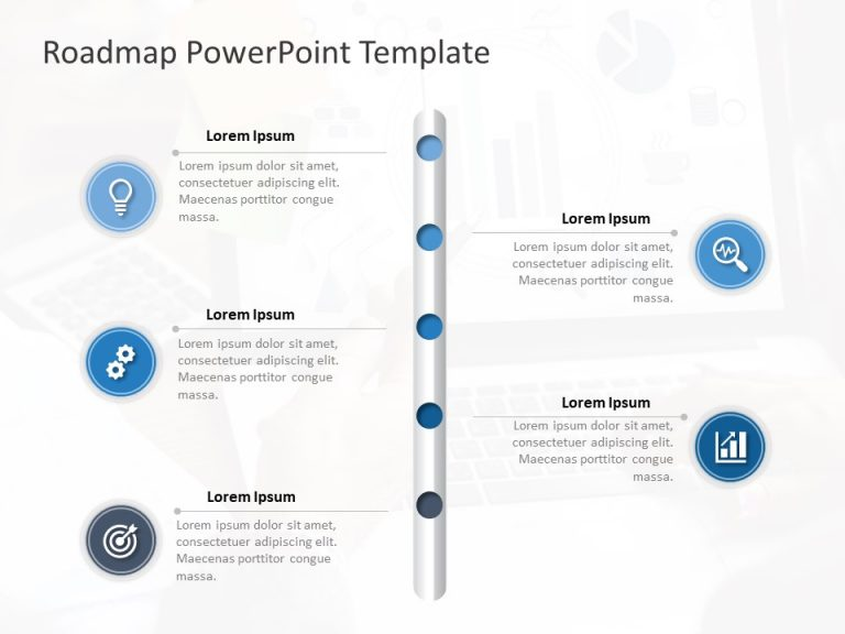 Business Roadmap PowerPoint Template 24