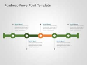 Business Roadmap PowerPoint Template 25