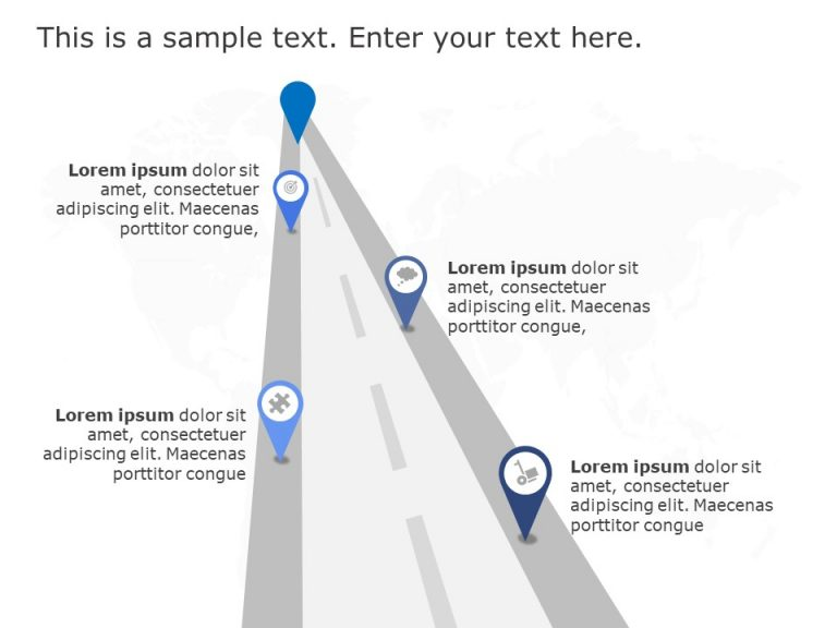 Business Roadmap Template 6
