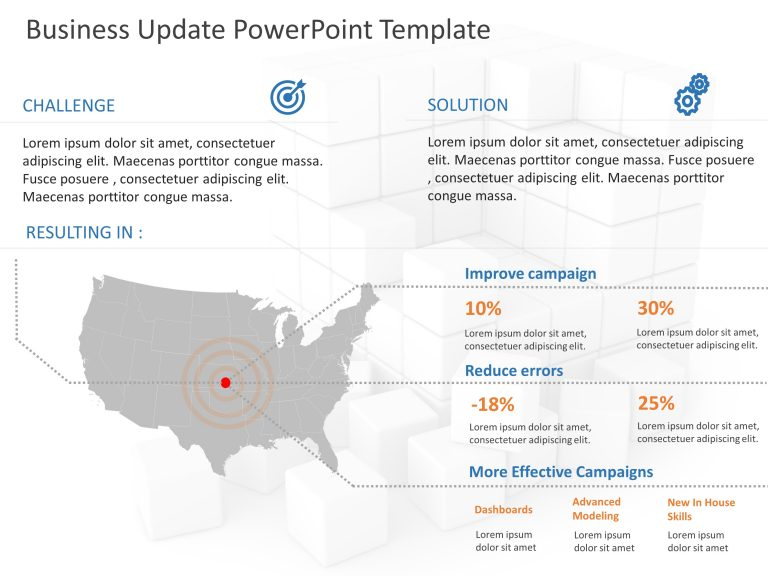 Business Update PowerPoint Template 1