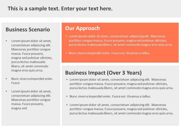 Case Study PPT Template 2