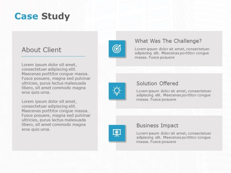 Case Study PowerPoint Template 22