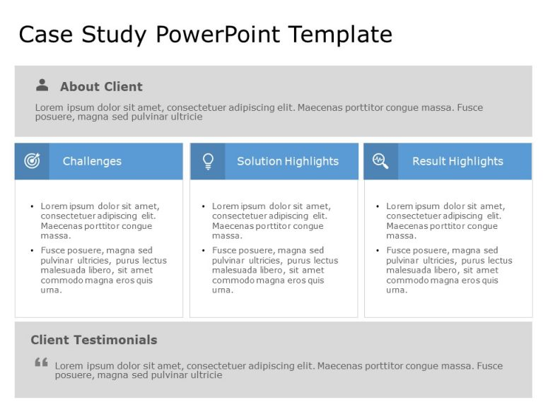 Case Study PowerPoint Template 25