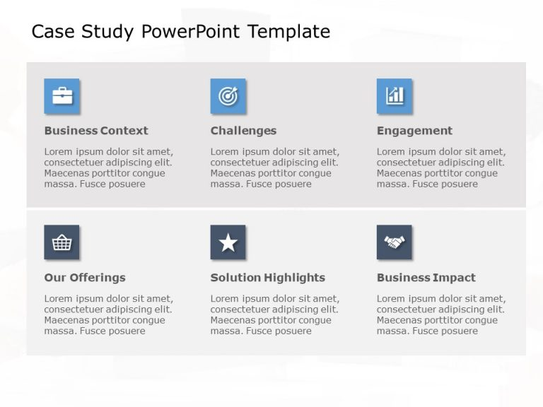 Case Study PowerPoint Template 26