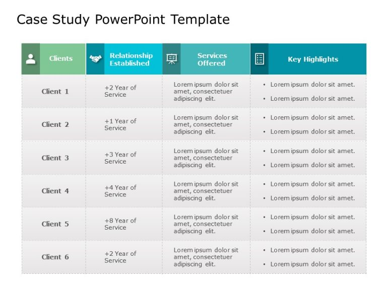 Case Study PowerPoint Template 27