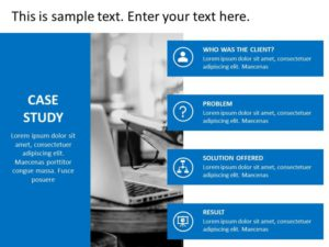 Case Study PowerPoint Template 6