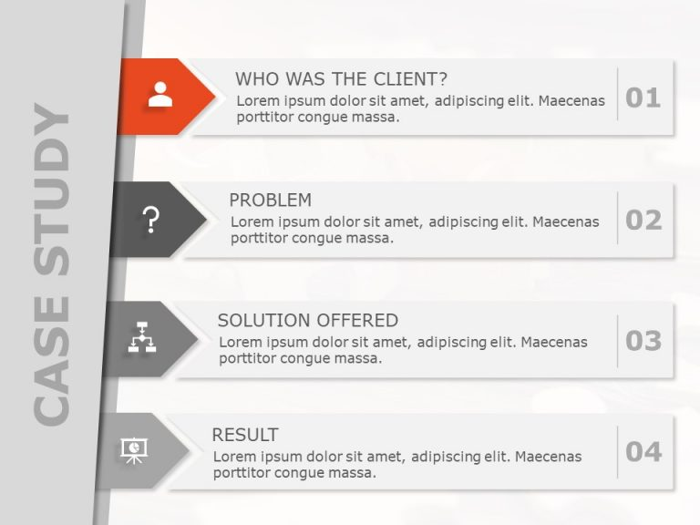 Case Study PowerPoint Template 7