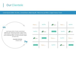 Client Portfolio PowerPoint Template 2
