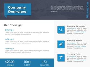 Company Overview PowerPoint Template 5