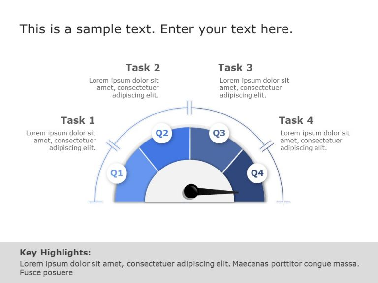 Dashboard Timeline Powerpoint Template