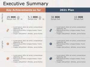 Executive Summary PowerPoint Template 22