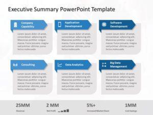 Executive Summary PowerPoint Template 35