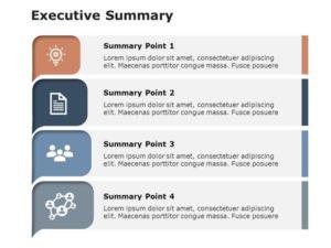 Free Executive Summary Slides 4 Pointer