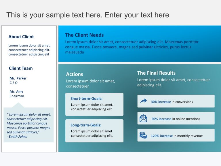 Marketing Case Study Template 3