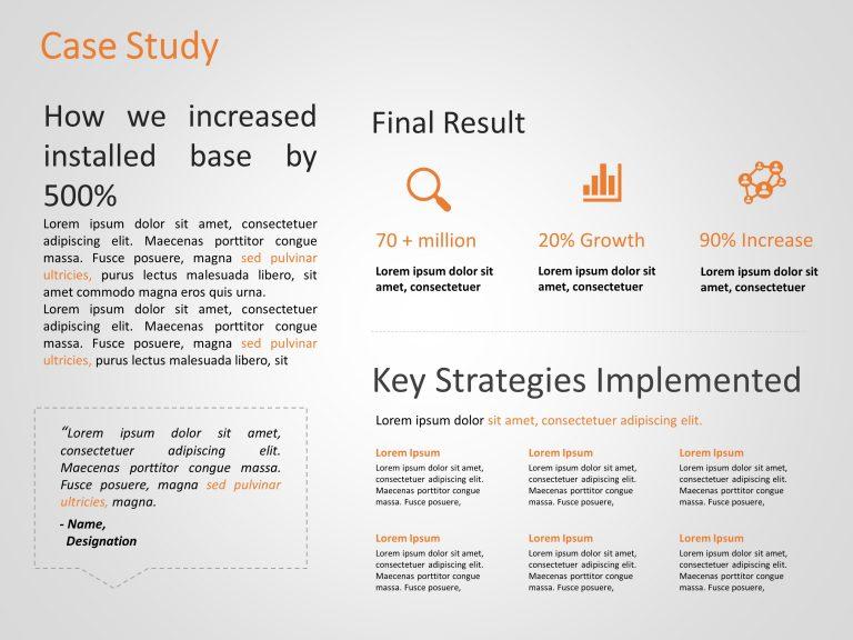Marketing Case Study Template 4
