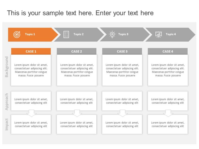Multiple Case Studies Template