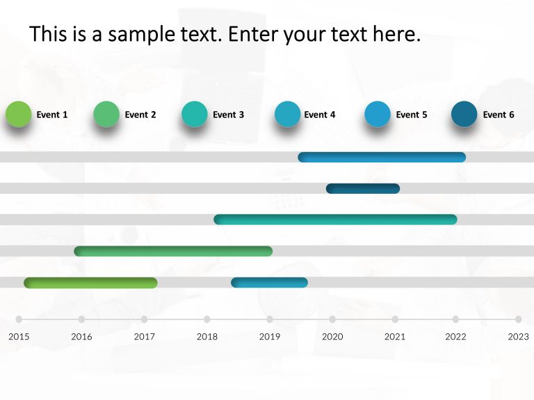 Product Timeline PowerPoint Template
