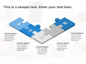Puzzle PowerPoint Diagram 4