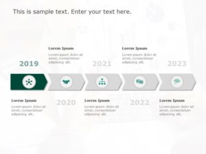 Timeline PowerPoint Template 16