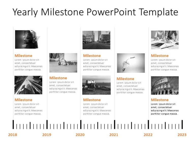 Timeline PowerPoint Template 26