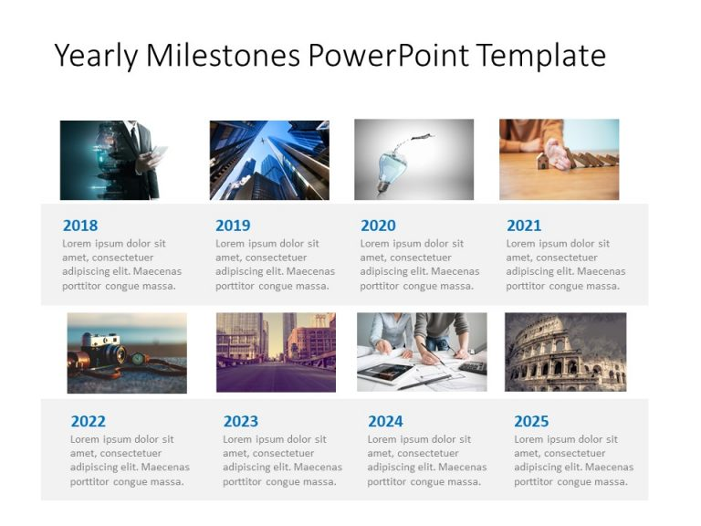 Timeline PowerPoint Template 27