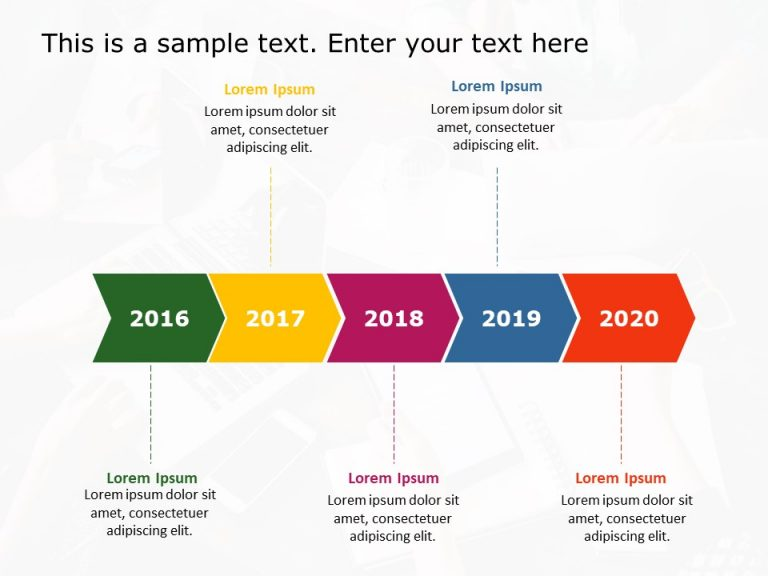 Timeline PowerPoint Template 35