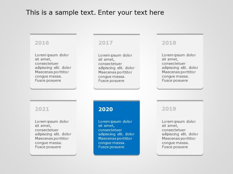 Timeline PowerPoint Template 36
