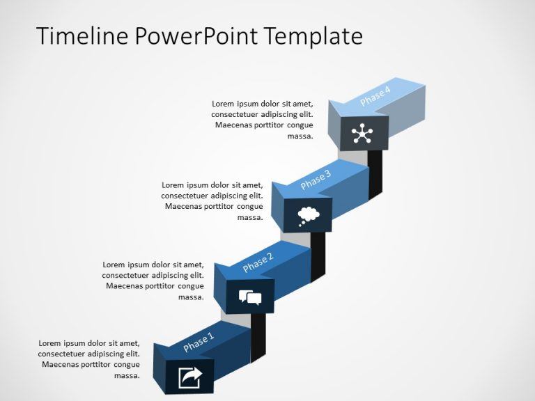 Timeline PowerPoint Template 45