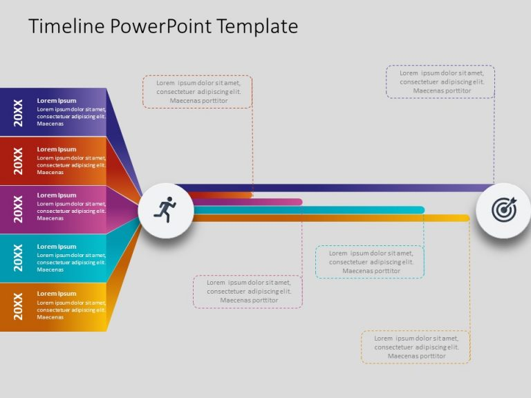 Timeline PowerPoint Template 46