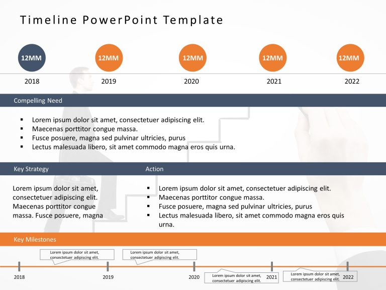 Timeline PowerPoint Template 49