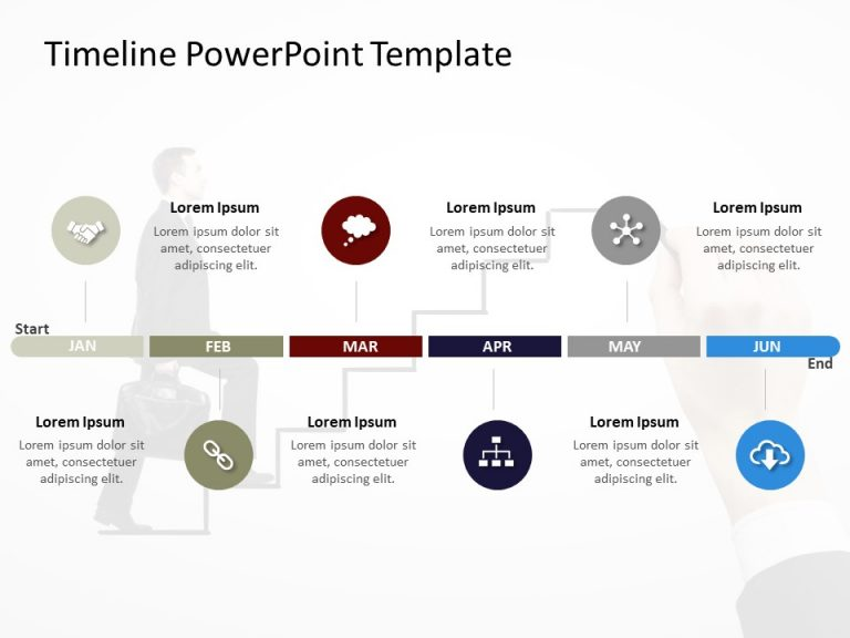 Timeline PowerPoint Template 52