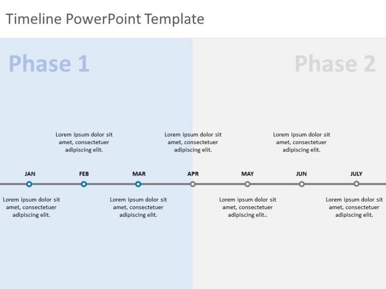 Timeline PowerPoint Template 57