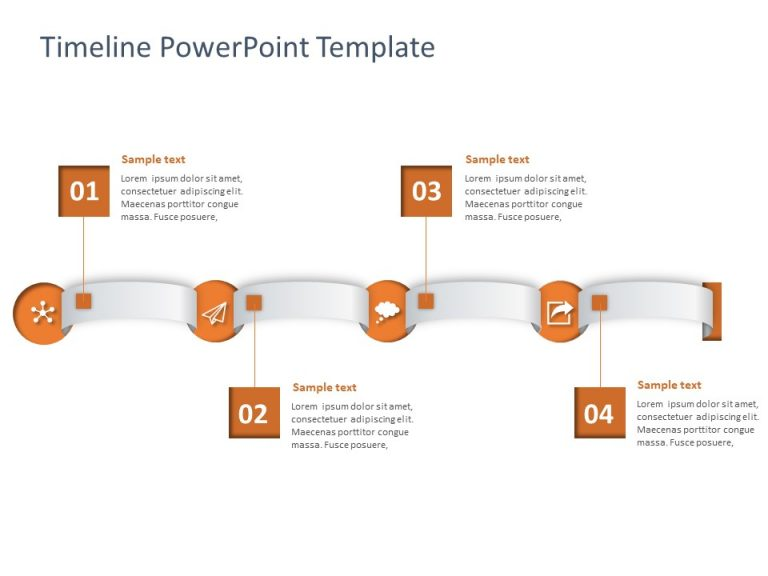 Timeline PowerPoint Template 59