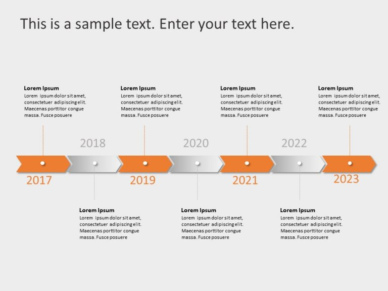 Timeline PowerPoint Template 62