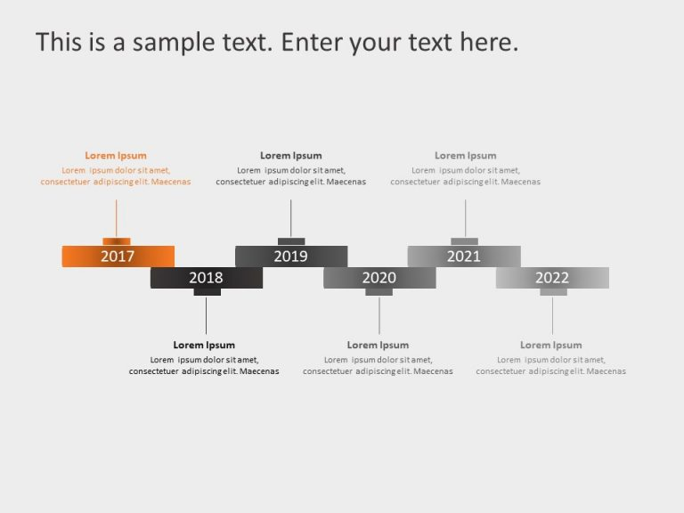 Timeline PowerPoint Template 63