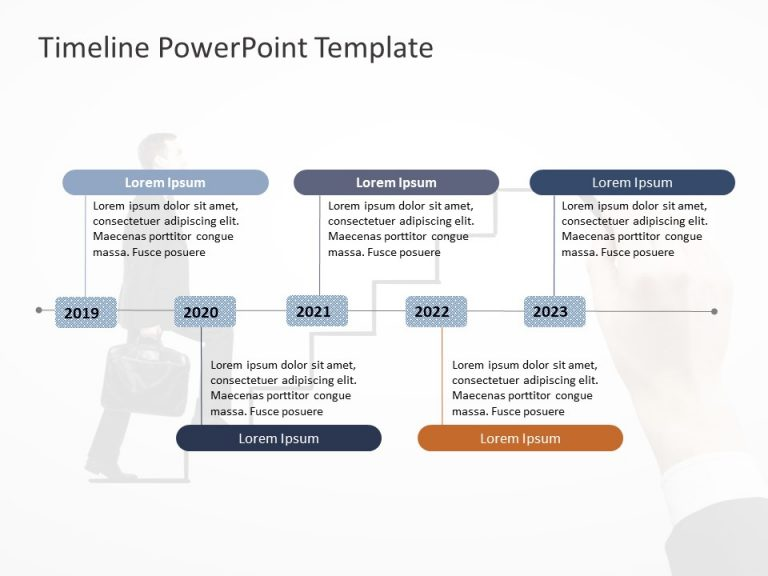 Timeline PowerPoint Template 64