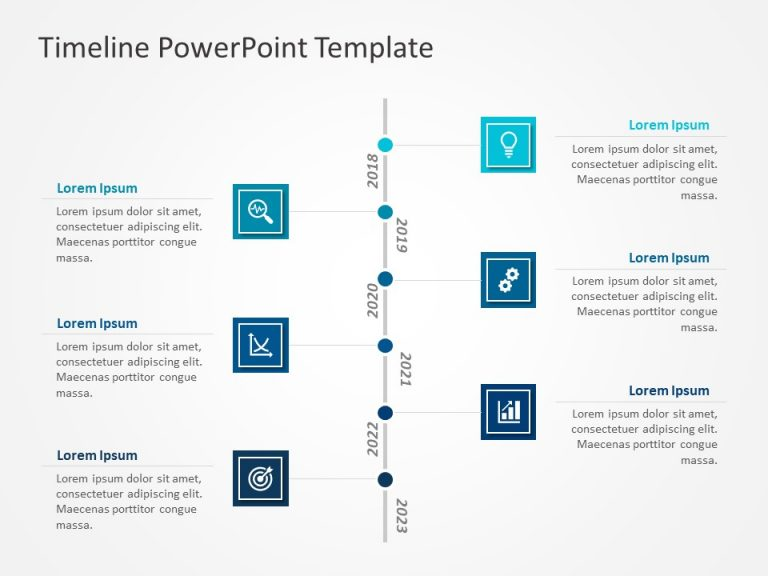 Timeline PowerPoint Template 65