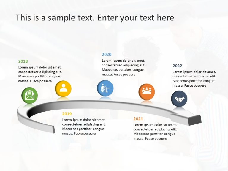 Timeline PowerPoint Template 72