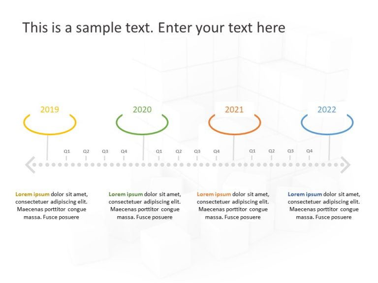 Timeline PowerPoint Template 74