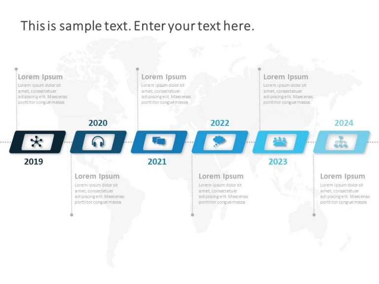 Timeline PowerPoint Template 8