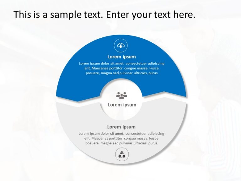 2 Steps Ecosystem PowerPoint Template