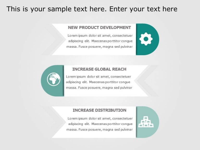 3 Steps Infographic Template
