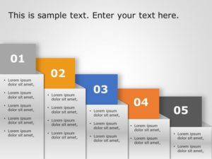 5 Steps Growth Strategy Template