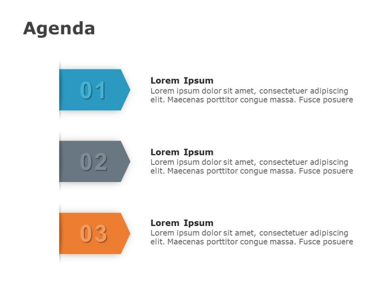 Agenda PowerPoint Template 16