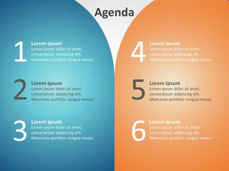 Agenda PowerPoint Template 23