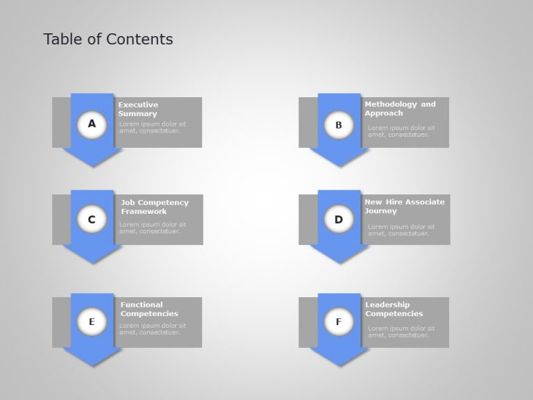 Agenda PowerPoint Template 25